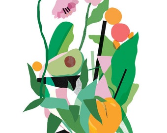 Fresh II A3 Giclee Art Print