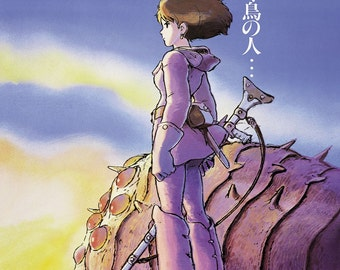 Nausicaa of the Valley of the Wind Studio Ghibli Large A1 Poster