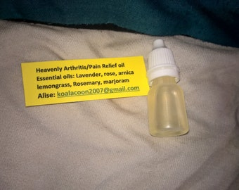 Natural Pain Relief (Muscles and Arthritis) oil