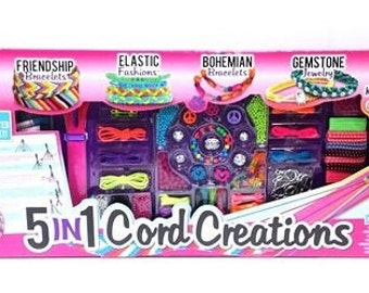 Cord Creations 5-in-1 Bracelet Making Kit