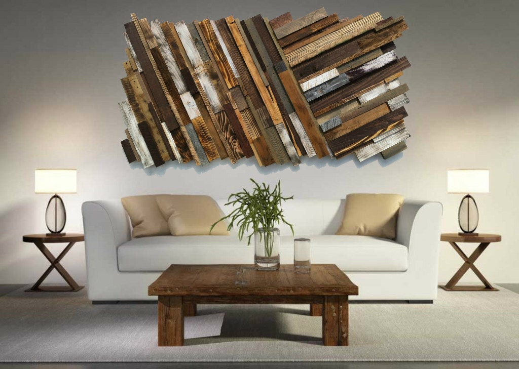 Reclaimed Wood Wall Art Free Shipping Rustic Art Abstract