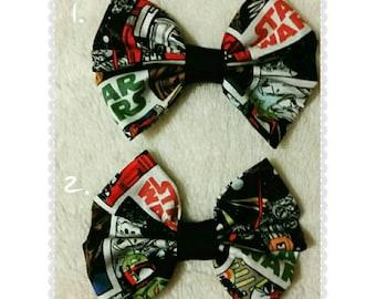 Fabric Star Wars Bow