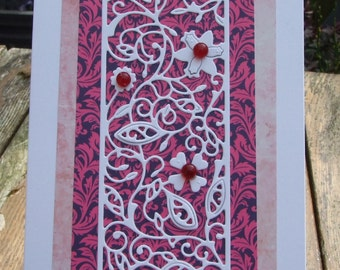 Flower Panel Card (140)