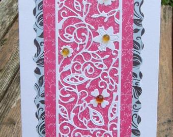 Flower Panel Card (141)