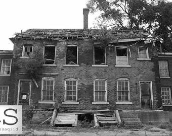 Home Sweet Home in Historical Fort Wayne, MI | Fine Art Print