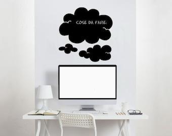 Blackboard Decal Wall decals Wall Stickers Blackboard Clouds