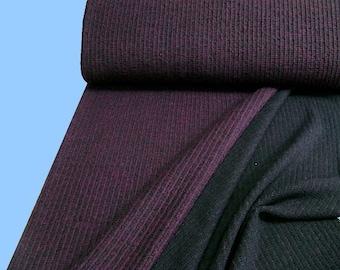 Soft rib knit of BlackBerry (508361)