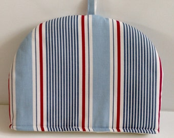 Handmade Sail Stripe Marine Striped  Tea Cosy