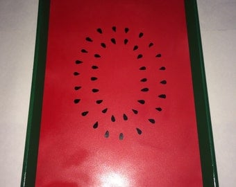 Hand Painted - Summer Watermelon Serving Tray