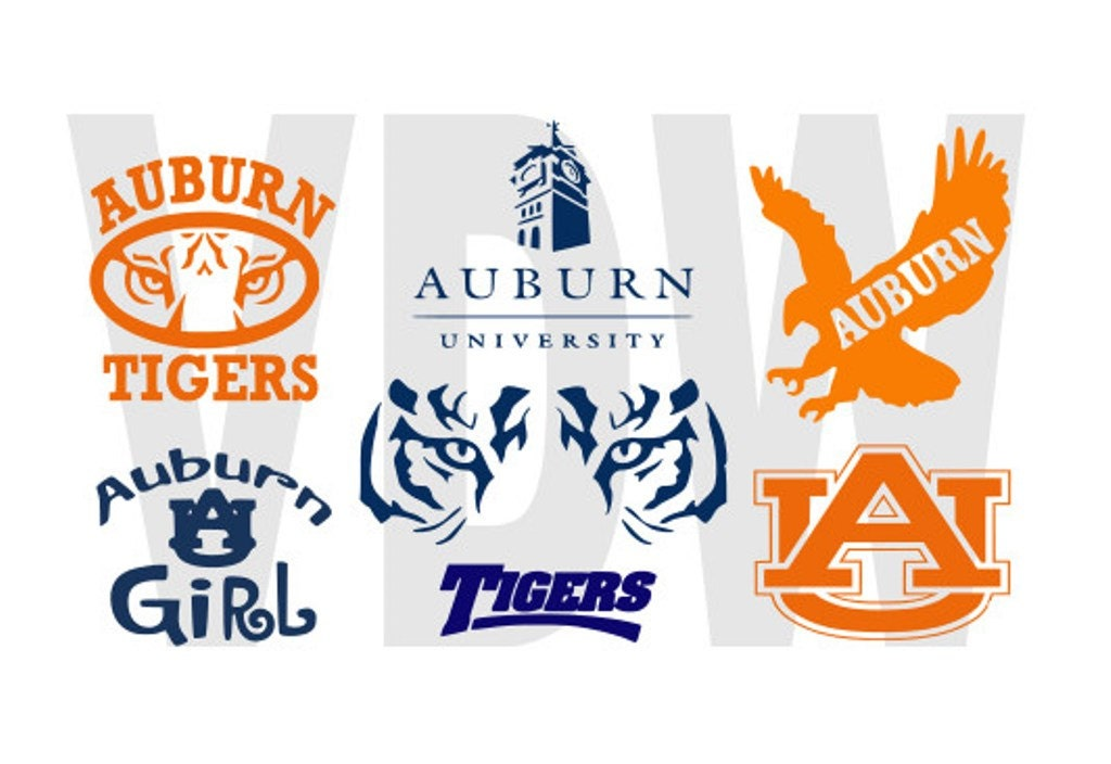 Auburn Tigers War Eagle Cutting Files by Vinyldecalsworld on Etsy