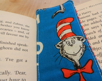 Fabric Bookmarks in Dr Suess Fabrics