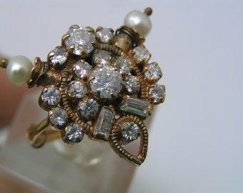 MASSIVE Victorian revival Ring.  Adjustable size