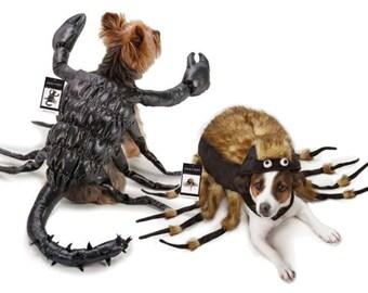 Scorpion Tarantula Fuzzy Spider Dog Halloween Costume Cosplay