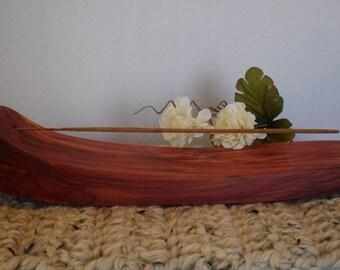 Handcrafted Cedar Incense Burner
