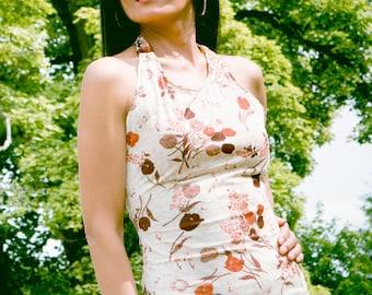 RMOI Floral Halter Dress
