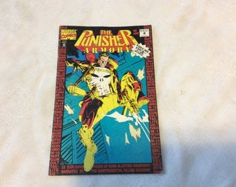 1992 Marvel Comics The Punisher Armory