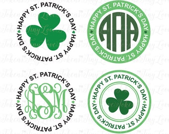 St Patrick's Day SVG Design for Silhouette and other craft cutters (.svg/.eps/.dxf/.pdf)
