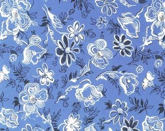 Celeste Blue Silk Crepe de Chine