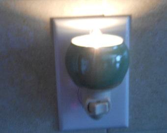 Green Ceramic Night Light
