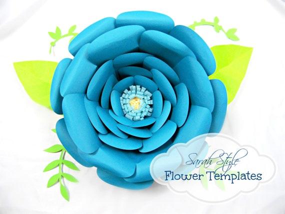 Giant Flower templates- Flower Patterns & Tutorials - DIY Giant ...
