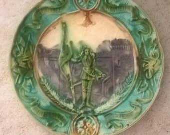 Joan of arc collection plate