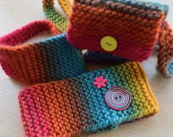 DIY Hand Knitting Kit - Gray Skies No More