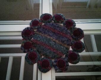 Penny Mat/ coaster/candle mat