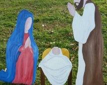 50% off SALE! Christmas Nativity Set
