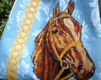 """""""At a gallop"""" tote bag"""