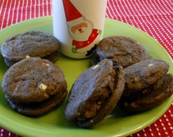 Double Chocolate Mint Cookies--1 dozen