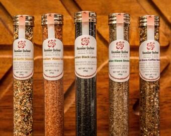 Favor Sized Hawaiian Kiawe Smoked Salt