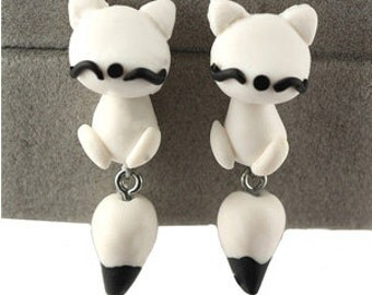 KittyCat earrings (1 pair)