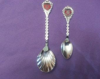 Set of Suomi Finland Collector Souvenir Spoons