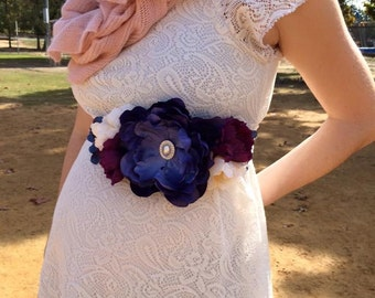 Maternity Sash (Wedding Sash, Photo Prop, and much more!)