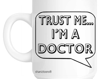 Doctor Novelty Gift Mug SHAN657
