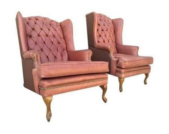 leather chairs, original leather, built and designed in perfect condition