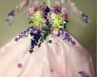 Chiffon Floral Girl Dresses