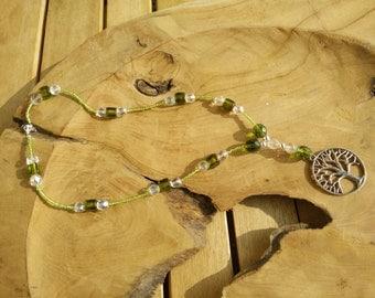 Series, necklace, shaman, shaman, druidic, Druid, Green, green, tree, tree, land, earth