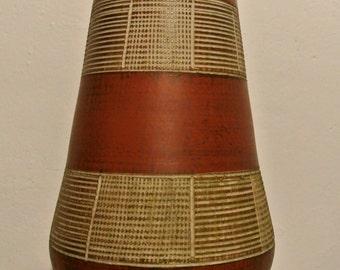 Great mid century ceramic floor vase