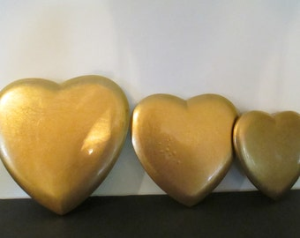 SS LACQUER HEARTS Nesting Boxes (3)