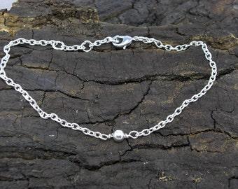 Bracelet Bead ball silver