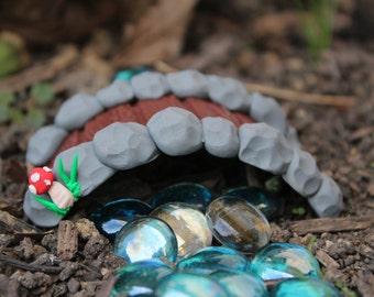 Bridge - Gnome & Fairy Garden - Polymer clay