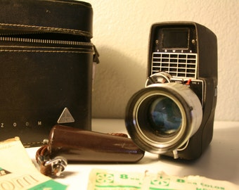 """Vintage Varizoom """"Tower"""" Camcorder, 8mm Model # 584"""