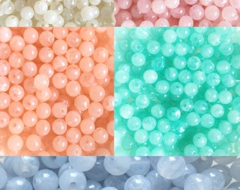 10 Perla beads 6mm - Prettypretty Beads UK