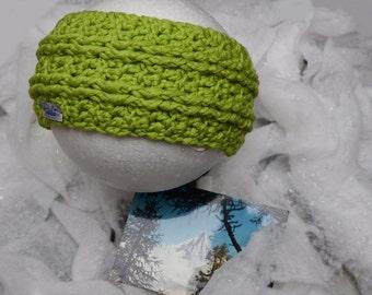 Headband green apple Papilau
