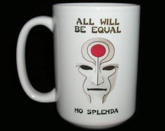 Avatar Legend of Korra Inspired Equalist Mug
