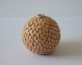 small ceramic vase with skin-ceramic vase