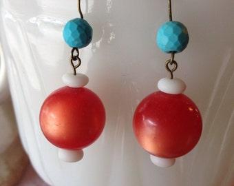 Kitschy Retro Earrings