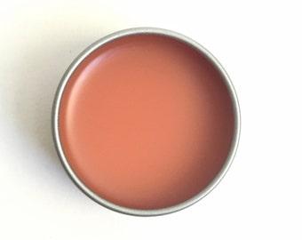 Rose Lip Balm / Organic Lip Balm /Cocoa Butter Lip Balm /Natural Skin Care /Organic Lip Butter /Lip Balm Tin /Organic Skin Care / Lip Butter