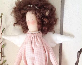 Decorative Handmade Rag Fabric Doll